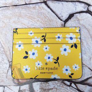 Darcy Fleurette Toss Small Card Holder Kate Spade